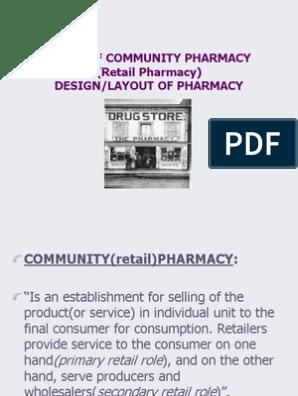 Pharmacy Design & Layout   Retail   Pharmacy