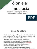 Sólon e a democracia