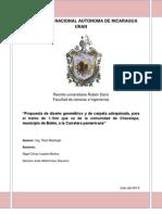 Protocolo diseño vial