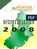 Alianza Manufacturera Informe de gestión 2008