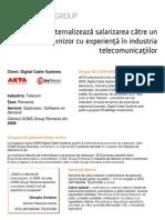 Externalizare Servicii Studiu de Caz Akta Dcs Ro