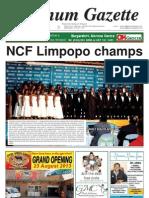 Platinum Gazette 16 August 2013