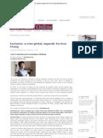 Chang, Crise Global