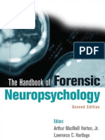 THE HANDBOOK OF FORENSIC NEUROPSYCHOLOGY