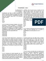 Matematica Exercicios Probabilidade Enem Romulo