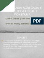 Politica Monetaria y Demanda Agregada