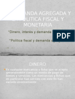 Politica Monetaria y Demanda Agregada