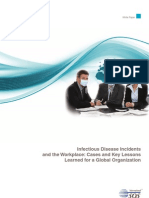 Infectious Disease Incidents in the Workplace