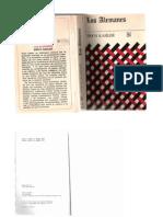 Capítulos libro Los alemanes  Erich Kahler