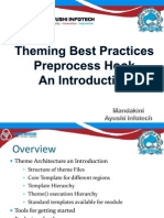Theming best practices and preprocess by ayushi infotech.ppt