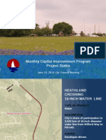 City of Heath, TX - Capital Improvement Plan 08/13/13