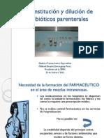 20120223 a Reconstitucion y Dilucion Antibioticos Parenterales