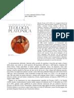 Marsilio Ficino Teologia Platonica