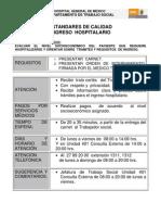 Estandares_calidad Admision Pediatrica