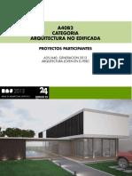 CATEGORIA A40 / ARQUITECTURA NO EDIFICADA
