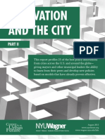 Innovation and the City Part II