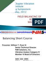 PDMS Balance 0512_ Field Balancing