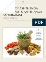 Sutras of Ashthanga Hrydayam & Ashthanga Sangraha