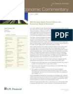 Compass Financial - Weekly Economic Commentary - June 1, 2009
