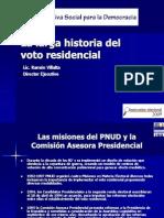 La Larga Historia Del Voto Residencia l