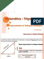 trigonometria_triangulo_retangulo Aula de Revisão apresentada na aula do Prof Antonio