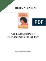 Dialogos Con Sai Baba Castellano