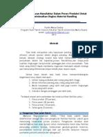 Proposal Kerja Praktek - Penerapan Lean Manufaktur Dalam Material Handling