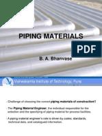 Piping Materials Final