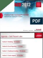 MI15 - FactoryTalkVantagePointEMI AdvancedLab Presentacion