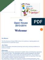 p4 open house - power point presentation 2012-13