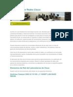 Laboratorio de Redes Cisco