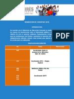 Rendicion de Cuentas 2010