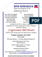 Reception for Roraback for Congress