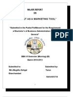 Internet Marketing Full Project Report