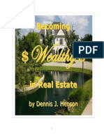 Becoming Wealthy in Real Estate