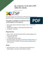 Ltsp Ubuntu 12.04