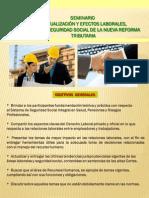 Seminario Actualizacion Laboral 2013 II