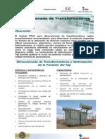 ETAP Dimensionamiento Transformadores