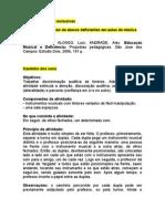 Atividades Ludicas - Educacao Especial