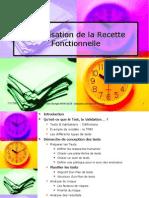 Organisation de La Recette Fonctionnelle