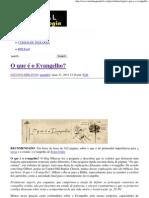 O que é o Evangelho_ _ Portal da Teologia.pdf