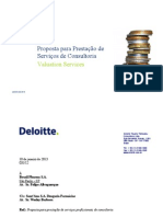 Deloitte - Proposta para Prestação de Serviços de Consultoria (1)