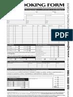 Gbp Taj Booking Form