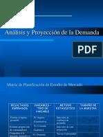 Analisis y Proyeccion de La Demanda
