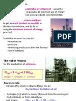IGCSE Chemistry - Industrial Processes