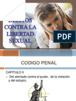 Violacion Sexual- Medicinal Legal