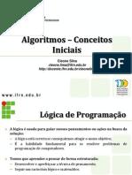 1 - ALGORITMOS_CONCEITOS_INICIAIS