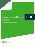 201304 Cfpb Payday Dap Whitepaper