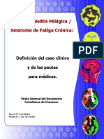 CRITERIOS CANADIENSES DE CONSENSO DE 2003 PARA SÍNDROME DE FATIGA CRÓNICA en español
