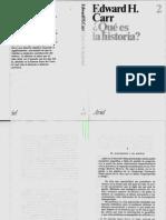 Carr Edward - Qué es la historia Cap 1y3.pdf
